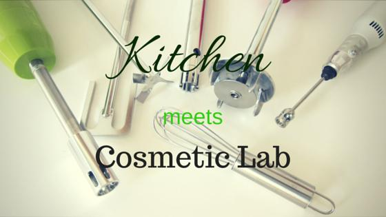 kitchen vs cosmetic lab
