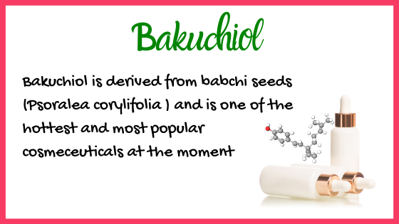 Bakuchiol properties and functions
