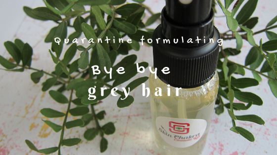 bye bye grey hair tonic