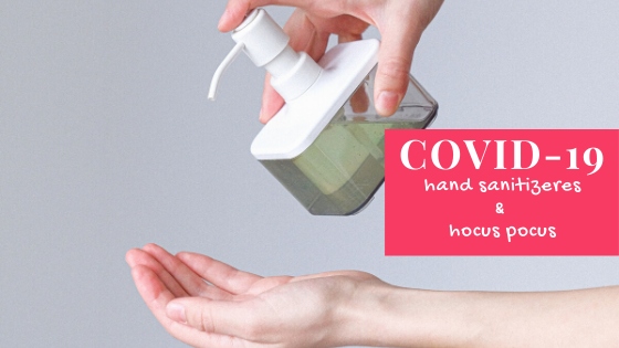 Covid-19 and hand sanitizers