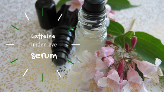 How to make a caffeine under-eye serum