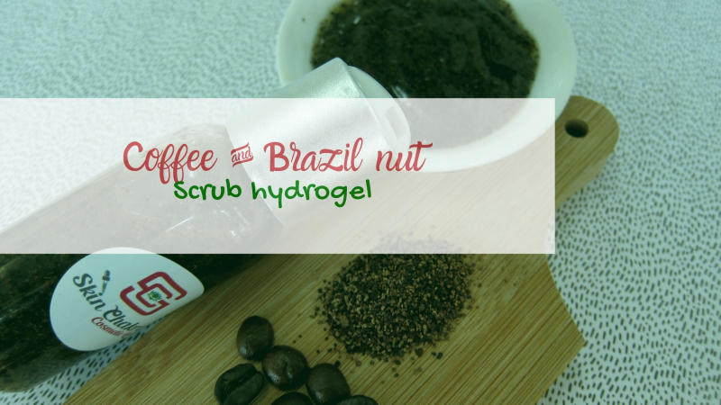 how to make a coffee hydrogel scrub