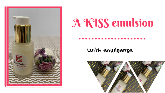 KISS emulsion tutorial
