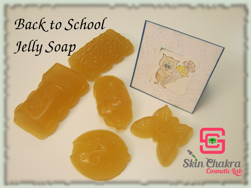 Back to school soap tutorial