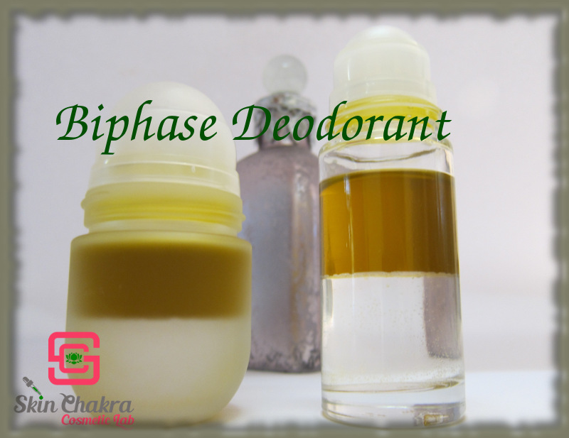 bi-phase natural deodorant turorial