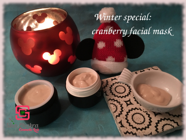 how to make a cranberry mask