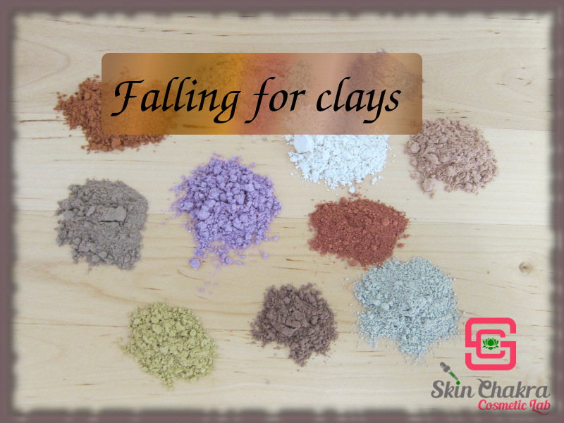 Clays in natural cosmetics