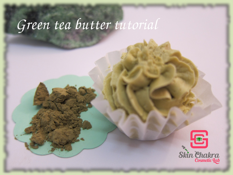 green tea butter tutorial