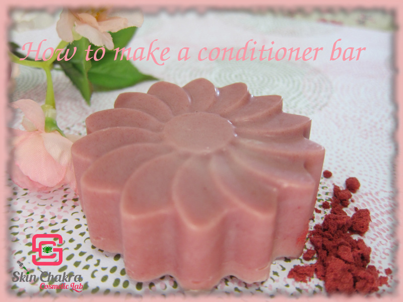 How to make a hair conditioning bar