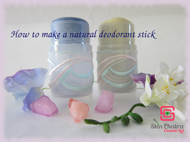 How to make a natural deodorant stick - Swettis Beauty Blog