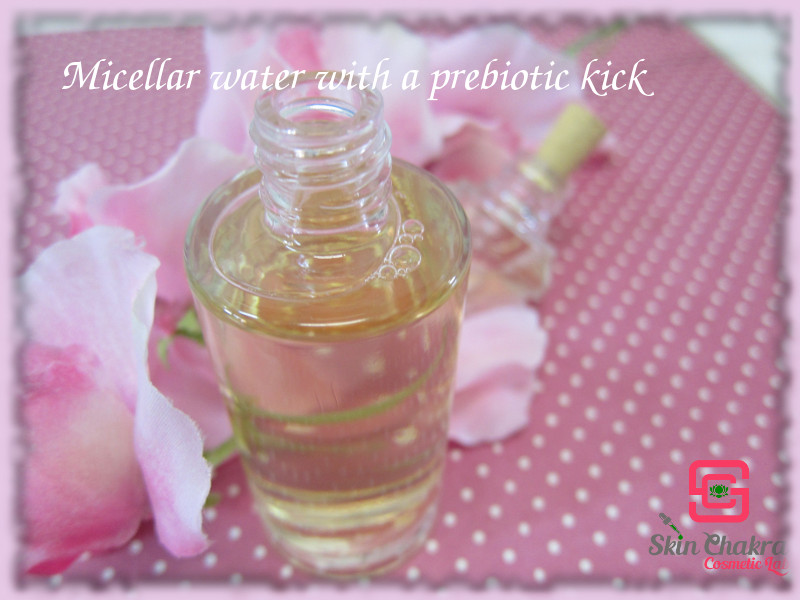 micellar water with a prebiotic kick tutorial