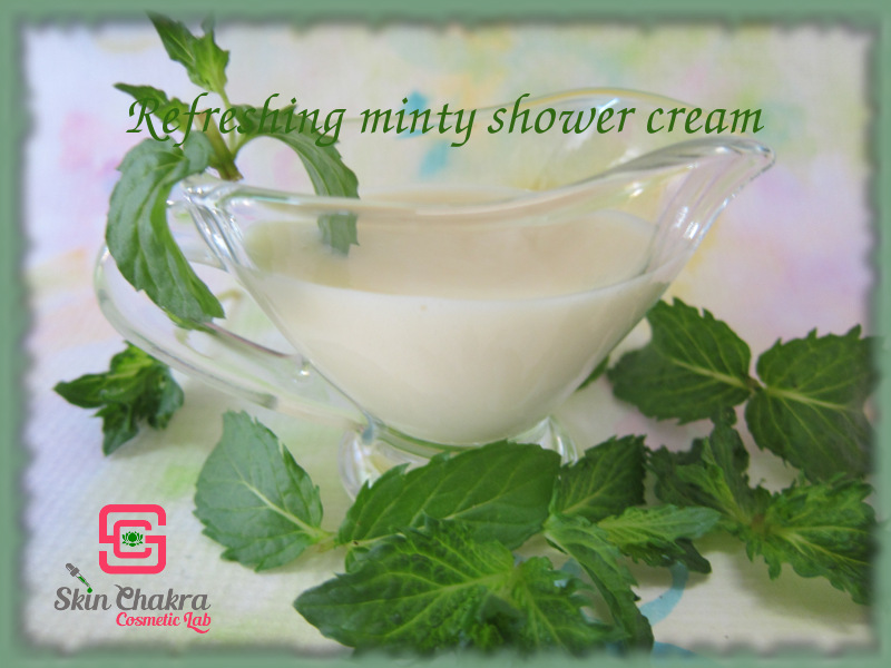 How to make a shower cream