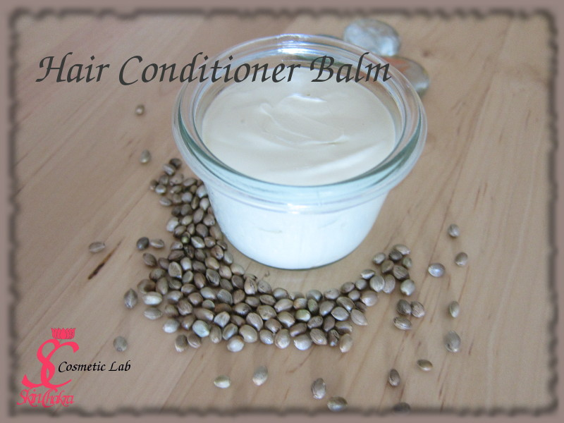 organic hair balm tutorial