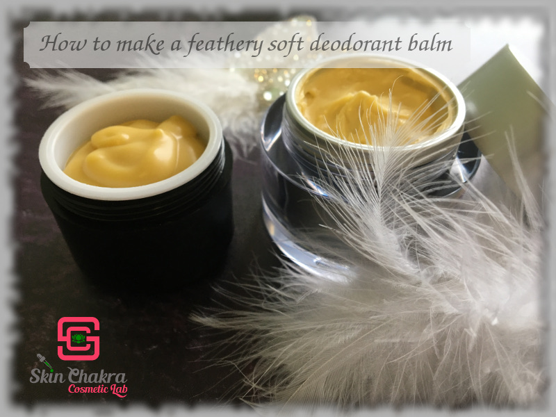 how to make a natural and baking soda free deodorant balm