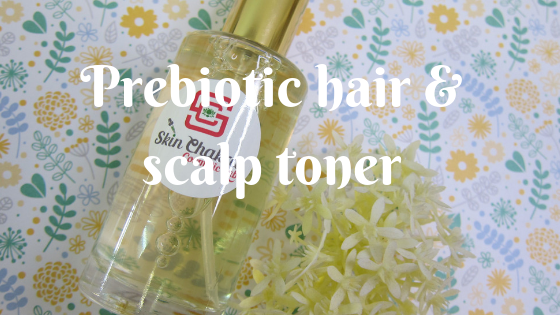 Prebiotic hair and scalp toner tutorial