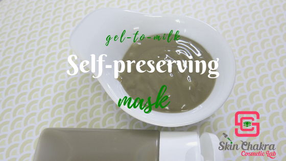 how to make a self-preserving clay mask