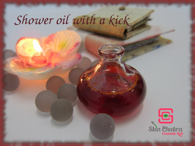 chili shower oil