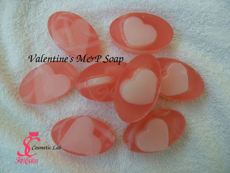 Valentine's soap projects