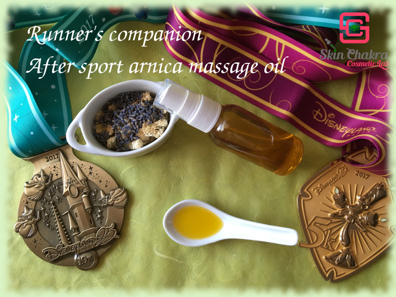 after sports massage oil tutorial