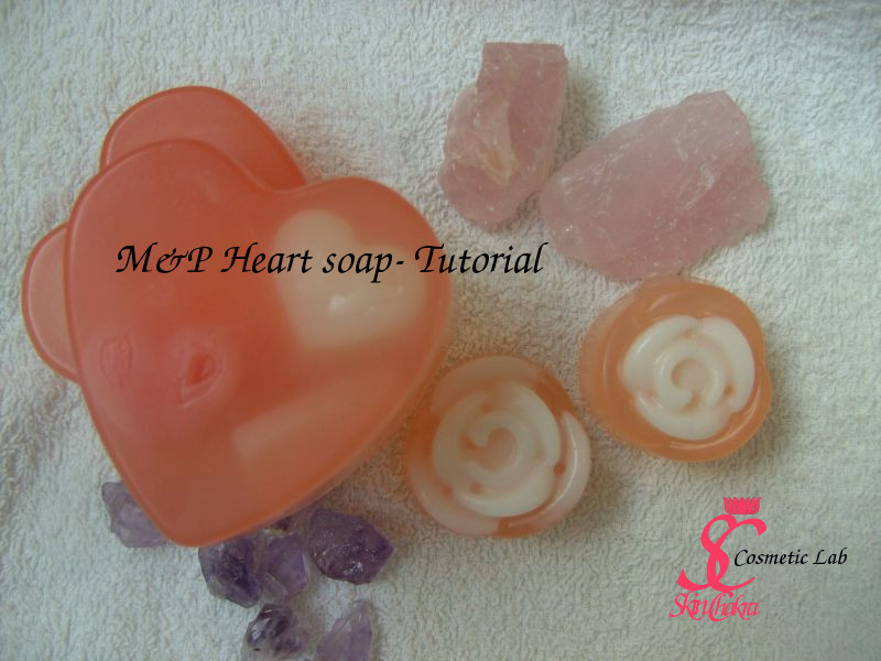 heart soap- valentine's day