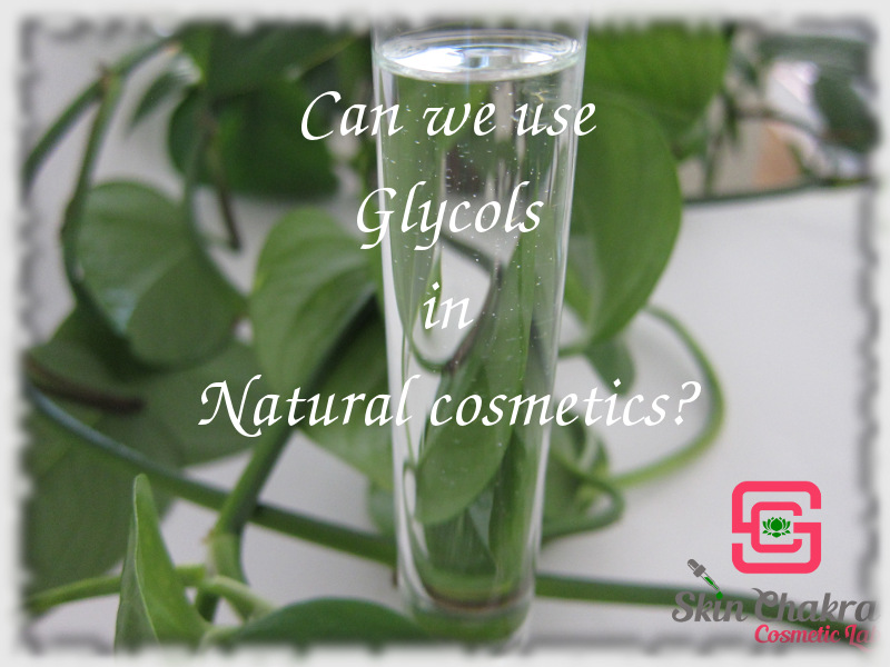 can we use glycols in natural cosmetics