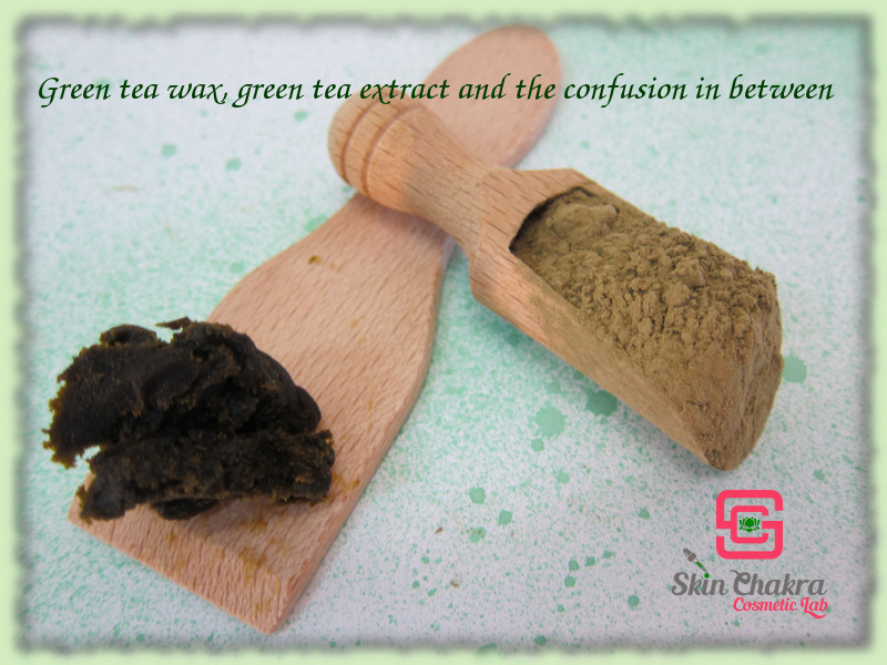 green tea wax compared with gren tea powder