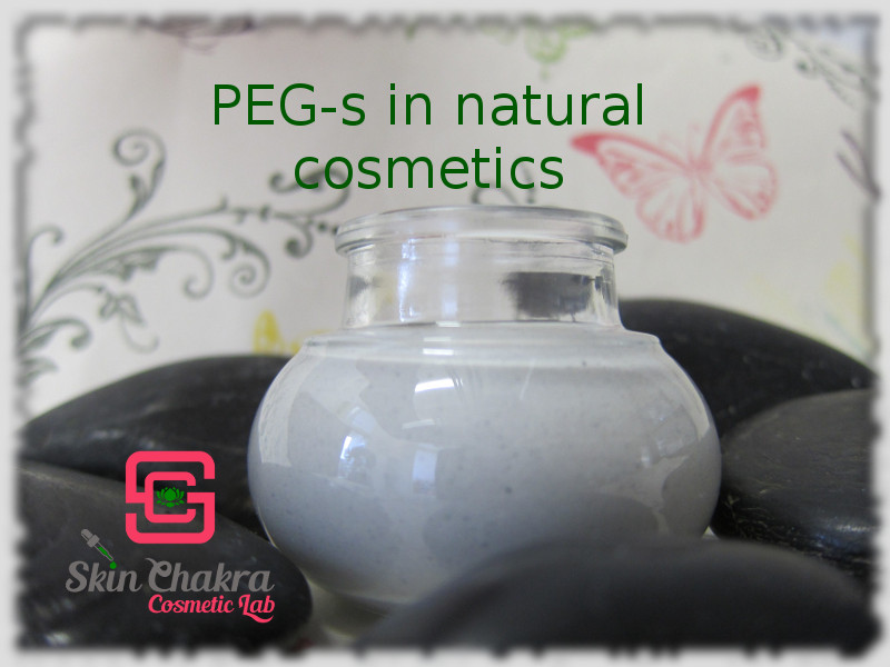 can we use PEG-s in natural cosmetics