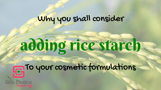 rice starch in cosmetics