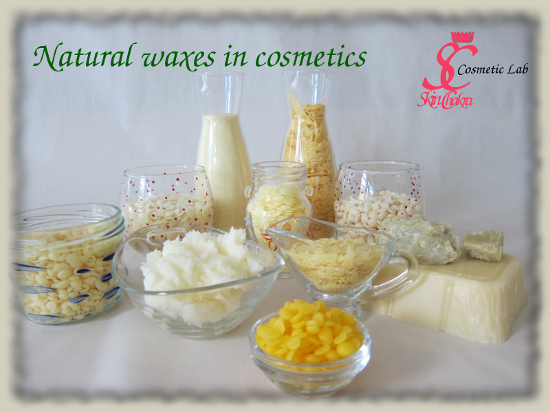 natural waxes in cosmetics