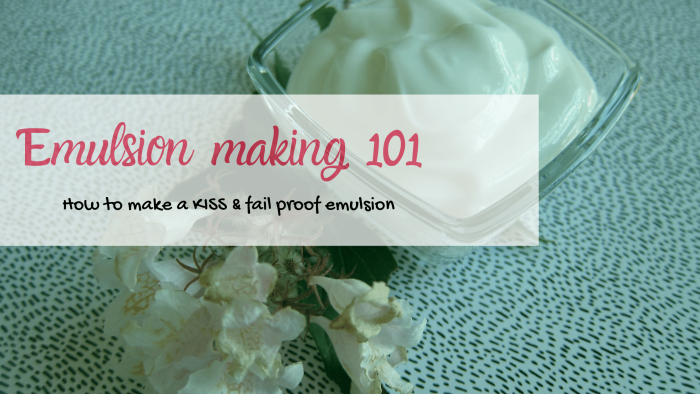 how to make fail proof emulsions