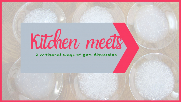 kitchen meets cosmetic lab