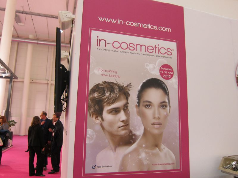 In-Cosmetics poster