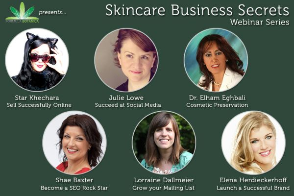 skincare business secrets webinar