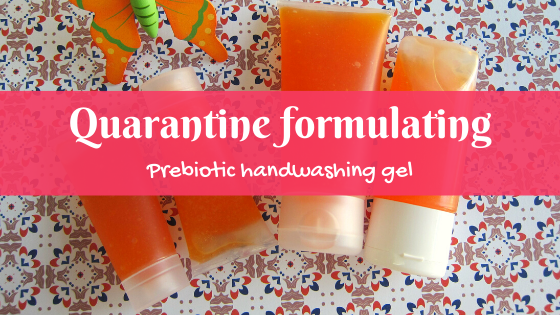 prebiotic handwashing gel