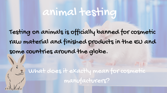 animal testing for cosmetic ingredients