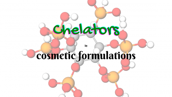 chelators in cosmetic formulations