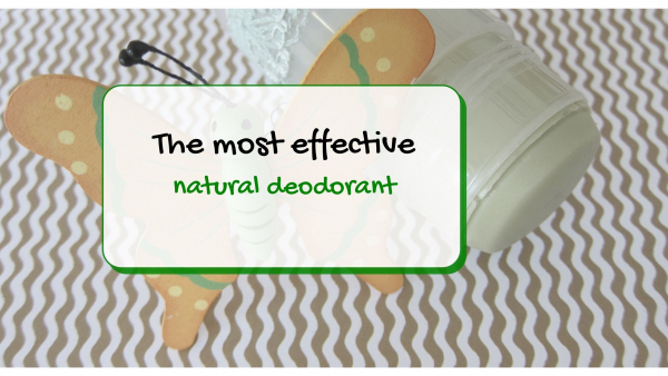 green tea natural deodorant