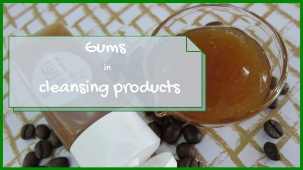 gums in cleansing products