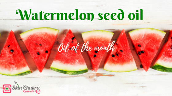 watermelon seed oil profile