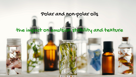 polar and non-polar oils